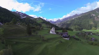 AERIAL: European countryside