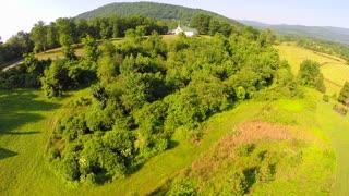 Aerial farm flyover summer 15