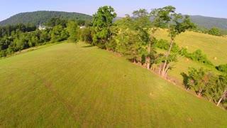 Aerial farm flyover summer 18