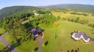 Aerial farm flyover summer 21