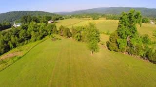 Aerial farm flyover summer 24