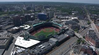Aerial Fenway Park