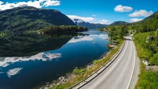 Aerial footage from Beautiful Nature Norway. Shot in 4K (ultra-high definition (UHD))