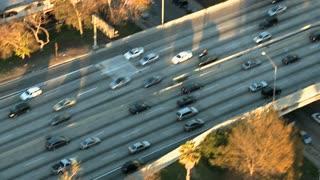 Aerial Highway Flyby