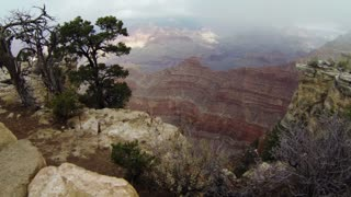 Aerial of American Landmark - Grand Canyon