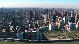 Aerial of New York Buildings