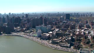 Aerial Over Upper Manhattan