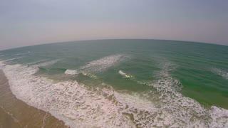 Aerial Over Vast Ocean