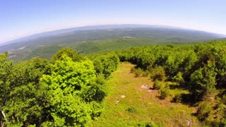 Aerial Shenandoah Valley Blue Ridge Mountains 10