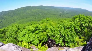 Aerial Shenandoah Valley Blue Ridge Mountains 12