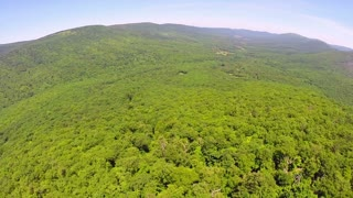 Aerial Shenandoah Valley Blue Ridge Mountains 13