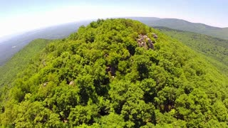 Aerial Shenandoah Valley Blue Ridge Mountains 14