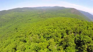 Aerial Shenandoah Valley Blue Ridge Mountains 15