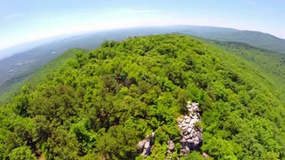 Aerial Shenandoah Valley Blue Ridge Mountains 19