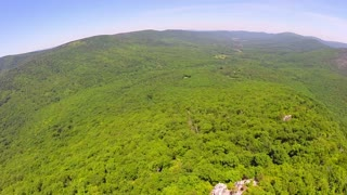 Aerial Shenandoah Valley Blue Ridge Mountains 23