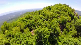 Aerial Shenandoah Valley Blue Ridge Mountains 24