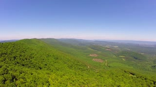 Aerial Shenandoah Valley Blue Ridge Mountains 2