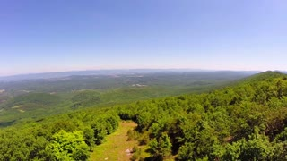 Aerial Shenandoah Valley Blue Ridge Mountains 3