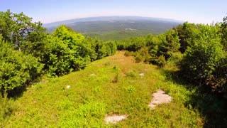 Aerial Shenandoah Valley Blue Ridge Mountains 4