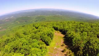 Aerial Shenandoah Valley Blue Ridge Mountains 5