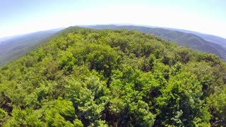 Aerial Shenandoah Valley Blue Ridge Mountains 9