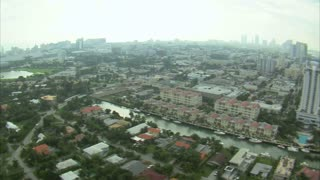 Aerial Shot of Downtown Miami 2