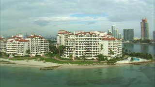 Aerial Shot of Hotels and a Miami Beach 4