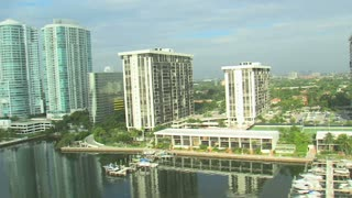 Aerial Shot of Hotels and Apartment Buildings in Miami 7