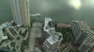Aerial Shot of Hotels in Miami 2
