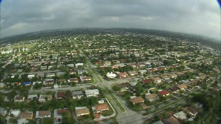 Aerial Shot of Residential Miami 2