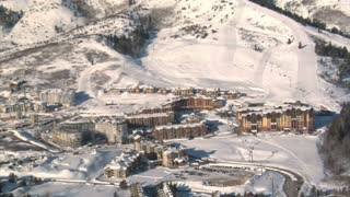 Aerial Shot Of The Canyons Resort Park City Utah