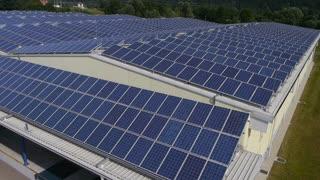 AERIAL: Solar panels