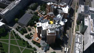 Aerial Swoop Over Mit, Cambridge, Massachusetts