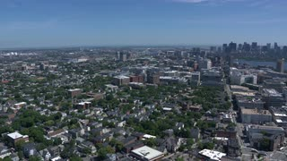 Aerial Tracking Over Mit Campus, Cambridge, Massachusetts