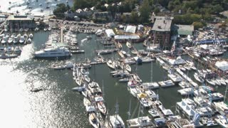 Aerial View of Annapolis Boat Show 2