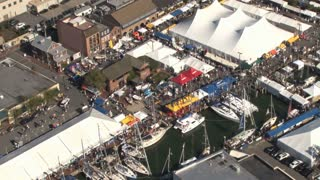 Aerial View of Annapolis Boat Show