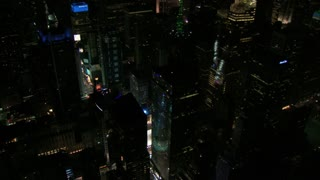 Aerial View of Bustling Times Square at Night 3