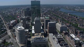 Aerial View Of Downtown Boston 2