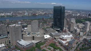 Aerial View Of Downtown Boston 3