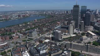 Aerial View Of Downtown Boston 4