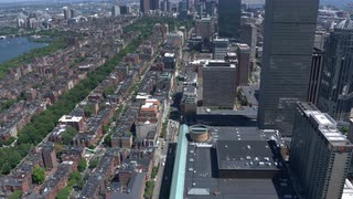 Aerial View Of Downtown Boston 5