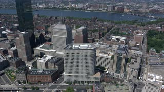 Aerial View Of Downtown Boston 6