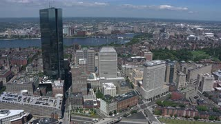 Aerial View Of Downtown Boston 9