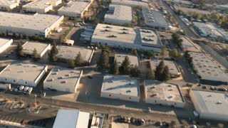 Aerial Warehouse View