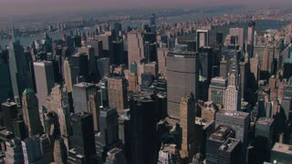 Aerial Zoom to Chrysler Building