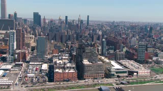 Aerial Zoom to Empire State Building
