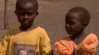 African Children Being Casual