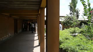 African Hospital Grounds