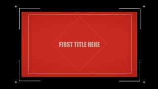 After Effects CS4 Template: Color Side Presentation