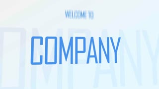 After Effects CS4 Template: Company Promo Opener